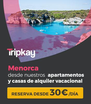 apartamentos en Menorca