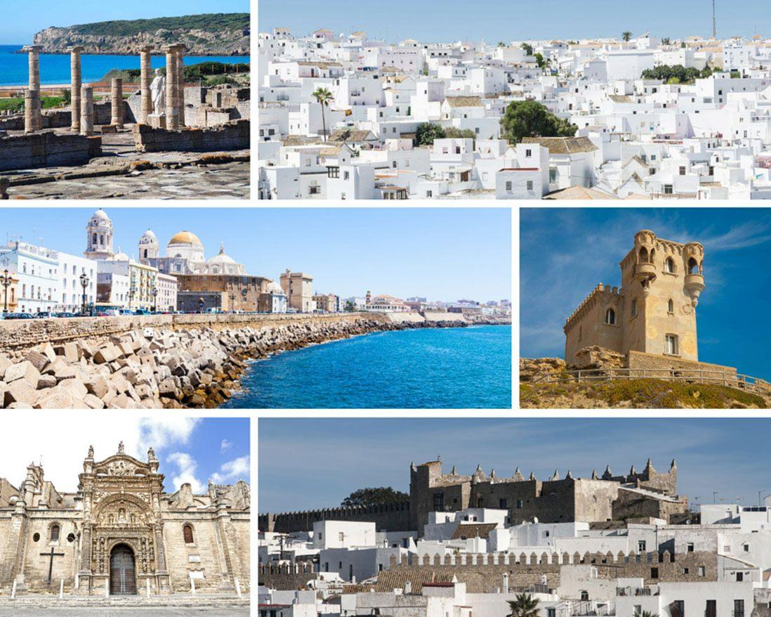 Pueblos blancos Costa de la Luz, Andalucia