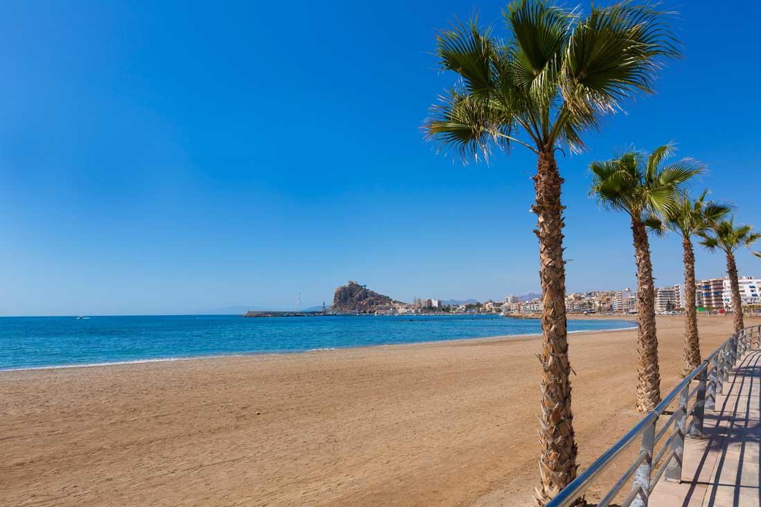 Playa de Levante, Águilas, Costa Cálida