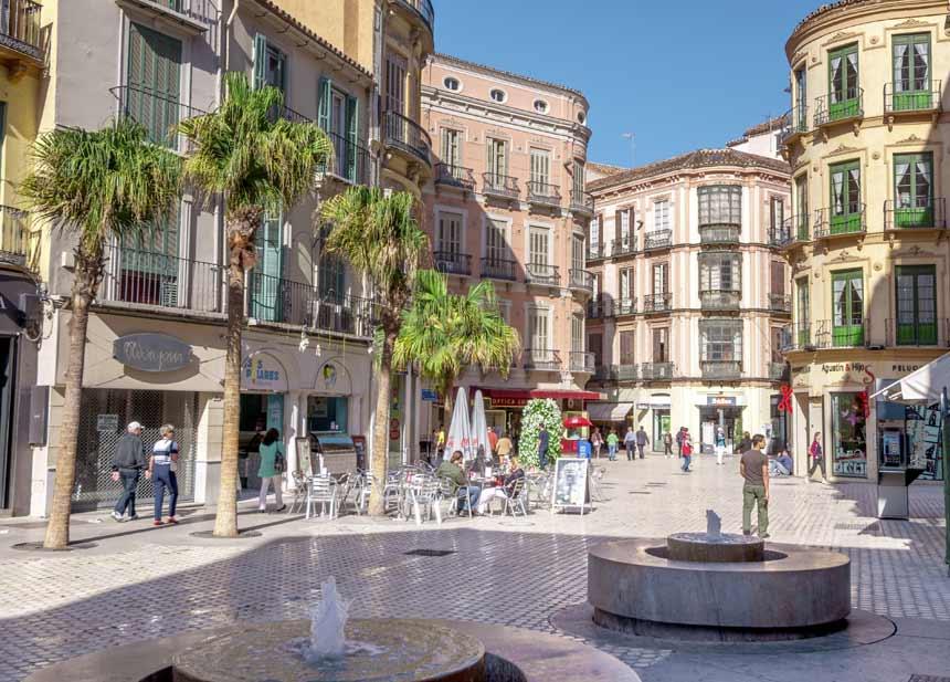 Cafeterias calle larios en Malaga
