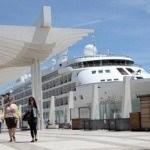 Paseo  Muelle 1 y Palmeral de las sorpresas de Málaga