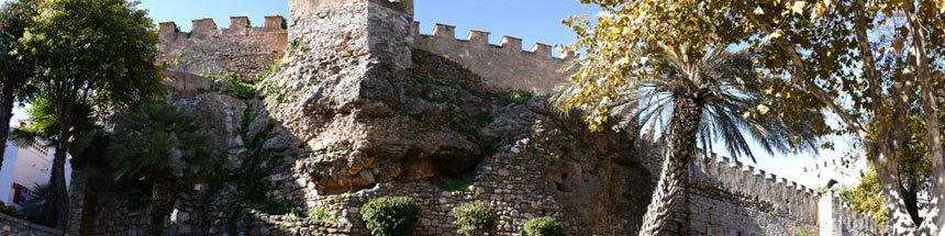 Antiguas Murallas Castillo de Marbella , costa del sol