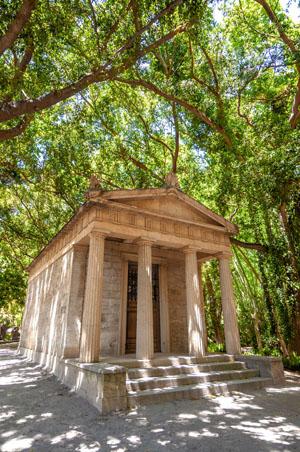 Jardín botánico de Málaga Parque concepción, Málaga, España