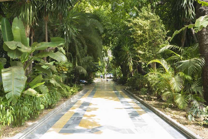 parque de la Alameda en Marbella