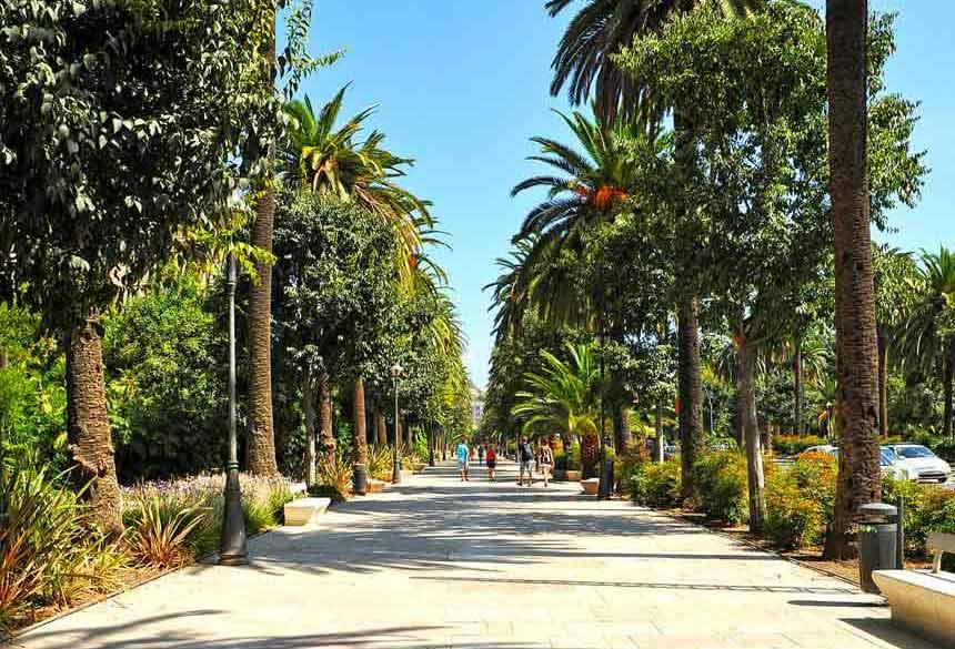 Paseo de la Alameda de Malaga