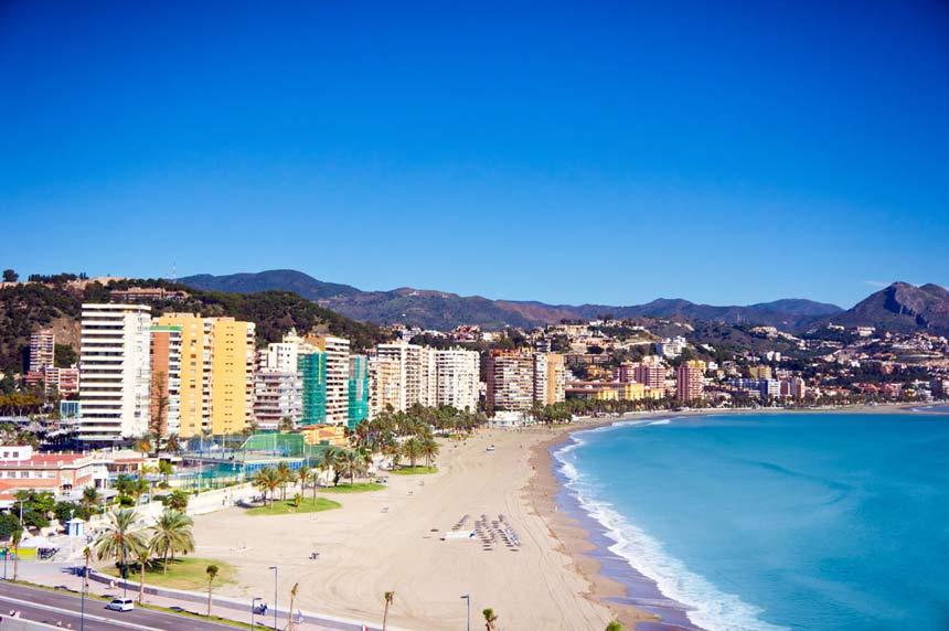 vista panoramica playa de la malgueta la malgueta