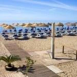 Playa del Cable, conocida como Bounty beach