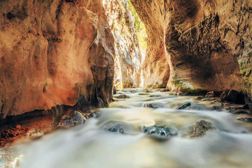 Rio Chillar,Nerja, Andalucía