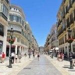 Calle Larios, la calle más viva de la ciudad