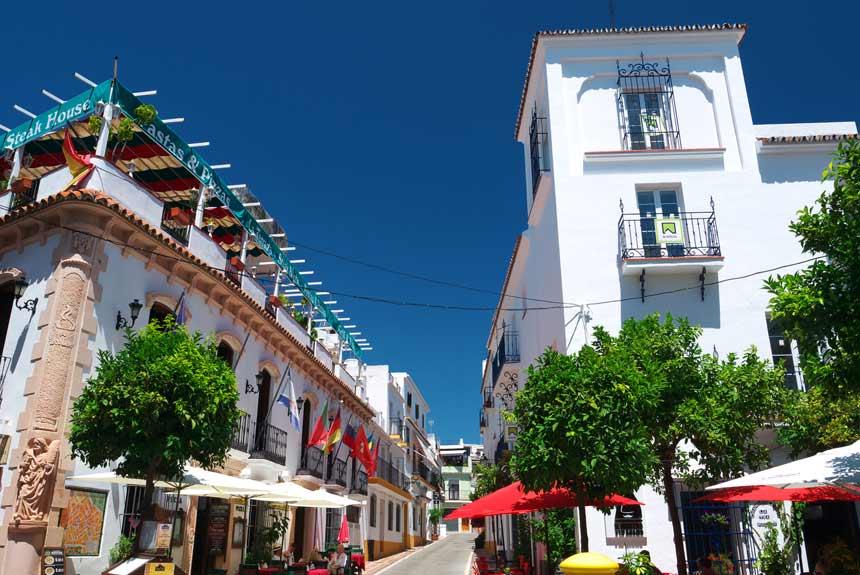 casco antiguo de Marbella