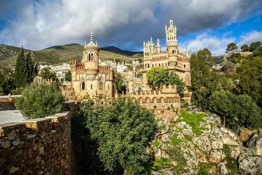 castillo de benalmadena
