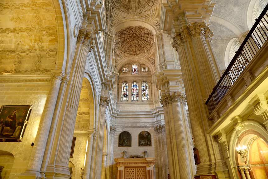 catedral de malaga en la Costa del Sol