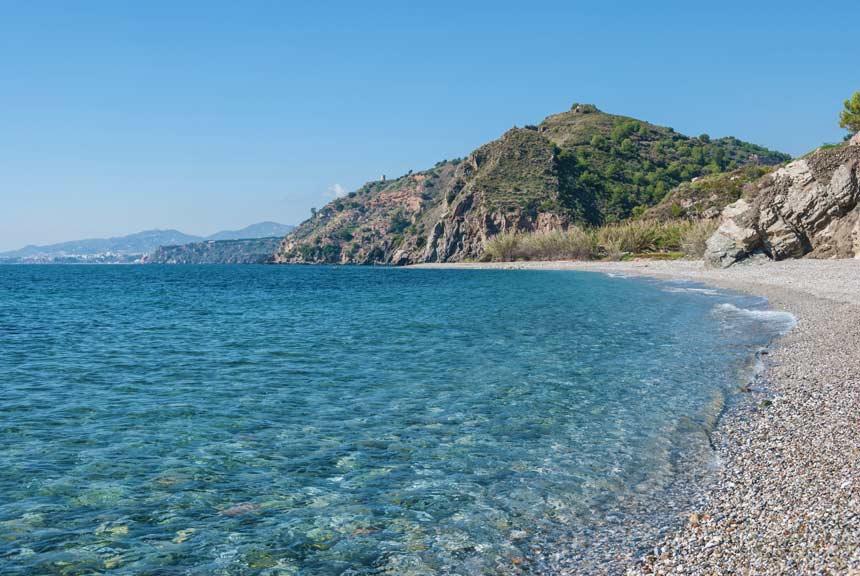 aguas cristalinas de las playas de Maro