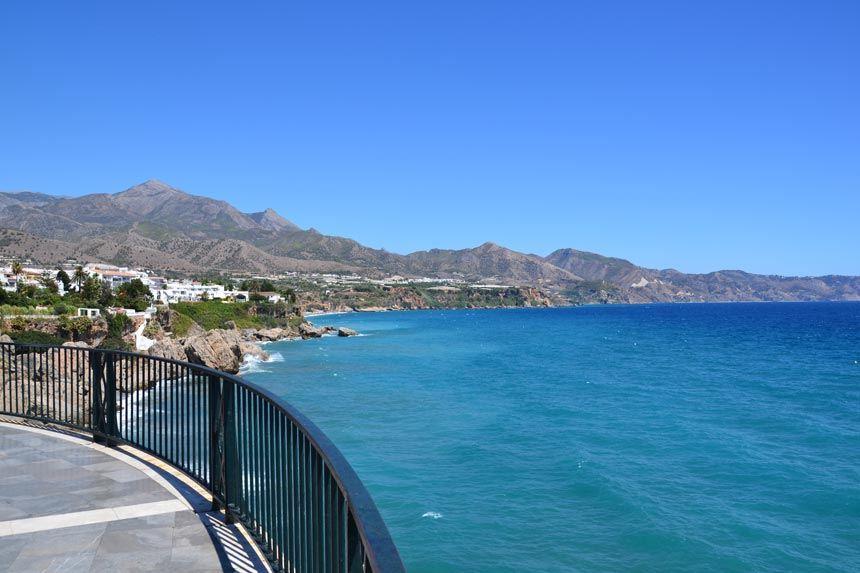 vista panoramica del balcon de europa en Benalmadena