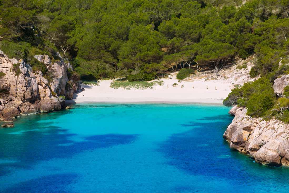 Cala Macarelleta -en-Menorca