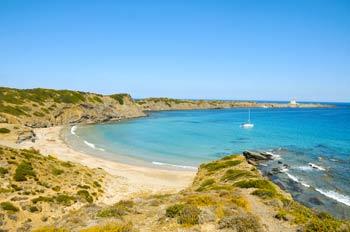 Cala Presili en Menorca