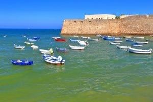 Imprescindibles de Cádiz Vista exterior del Castillo Santa Catalina, Cadiz