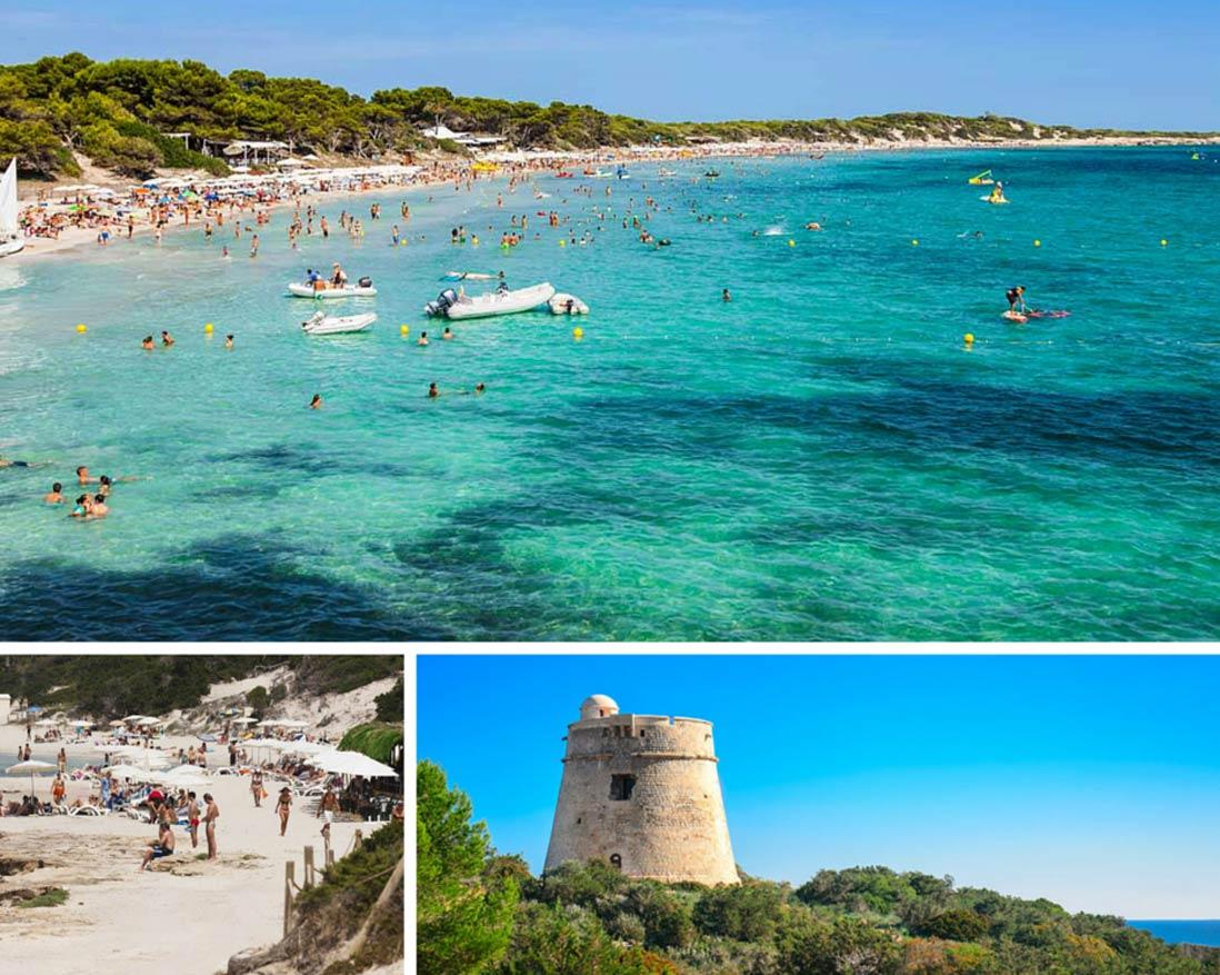 Collage-Parque Natural Ses-Salines-Sant-Josep-de-Sa-Talia
