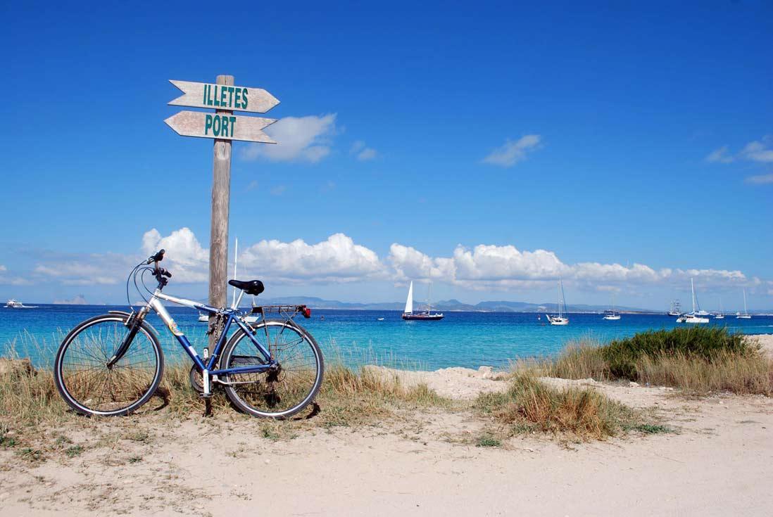Como llegar playa ses Illetes Formentera en las Islas Baleares