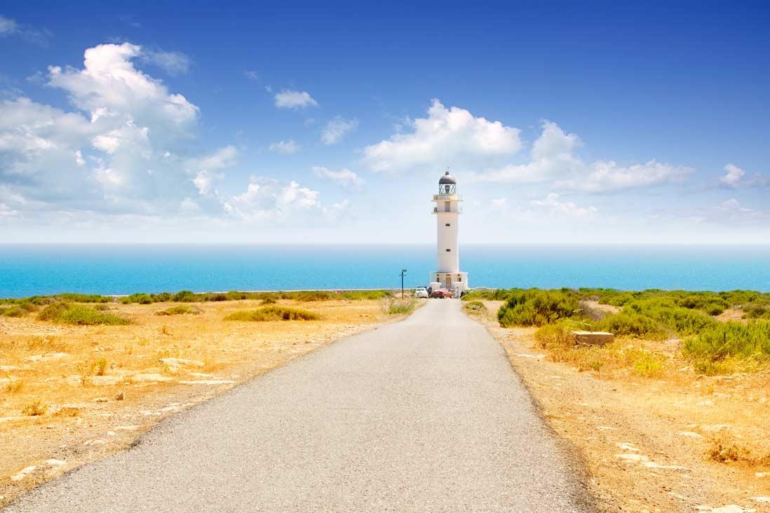 Faro Cap de Barbaria en Formentera