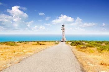Faro cap de babaria en Formentera