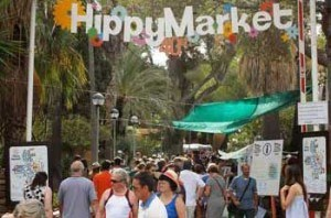 Mercadillo Hippie Punta Arabi Es Canar, Santa Eulalia, Isla de Ibiza