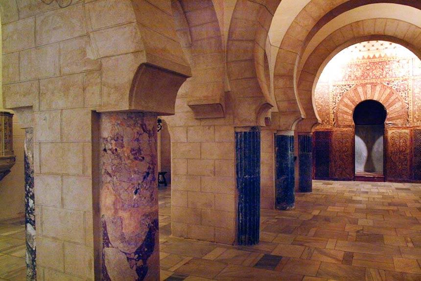 interior del castillo de san marco en Puerto de Santa Maria