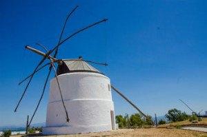 Antiguos molinos de viento de vejer de la frontera