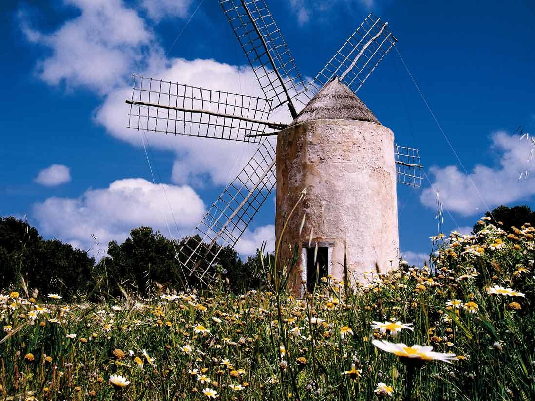 Antiguo  Molinos de Formentera