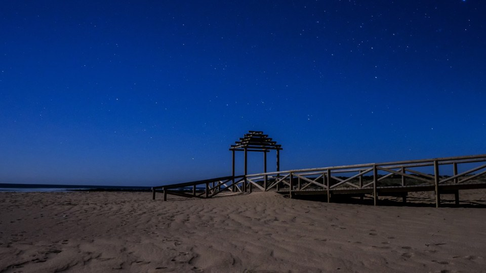 Playa Tarifa Noche, Andalucia