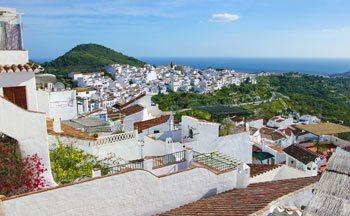 Pueblo de Frigiliana Malaga