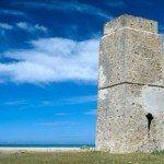 Playa Castilnovo y su torre vigía