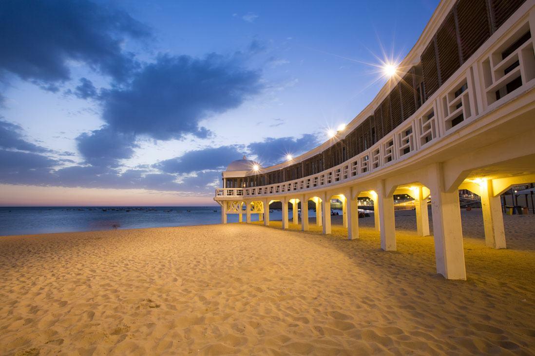 Playa La Caleta, Cadiz, Costa del Sol, Andalucia