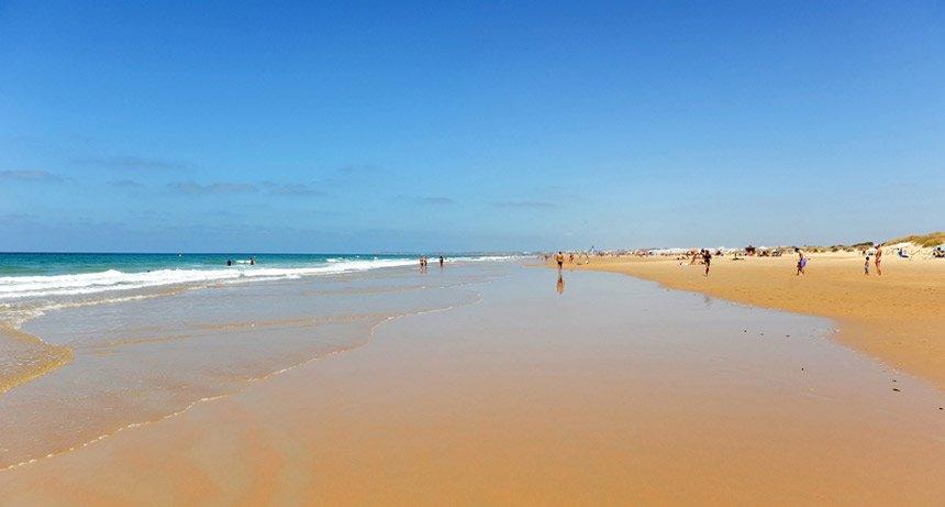 Playa del Palmar en Vejer de la Frontera