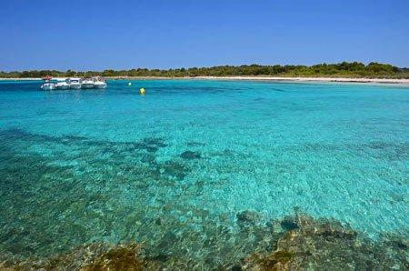 Playa son Saura en Menorca