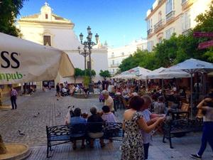 Imprescindibles de Cádiz Terrazas barrio del Populo, Cadiz