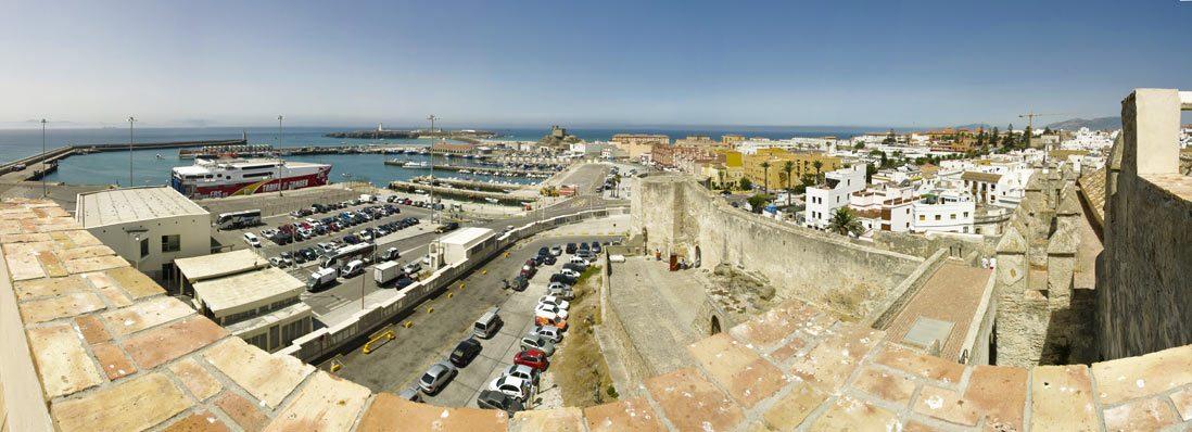 Panoramica desde el Castillo de Guzman El Bueno, Tarifa