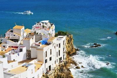 barrio de sa penya en Ibiza ciudad