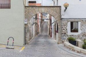 arco de entrada al barrio de la juderia