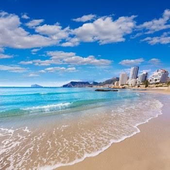 bonita playa cantal roig calpe