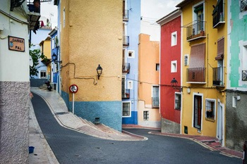 calles estrechas villajoyosa