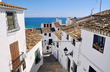 casco antiguo Altea en la costa blanca
