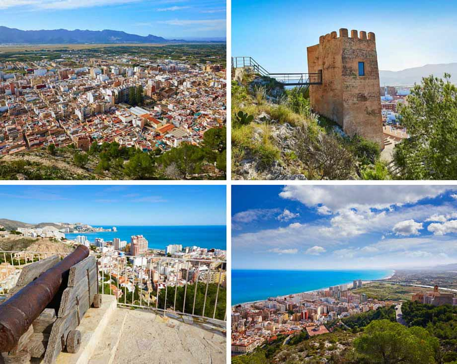 Costa de Valencia- castillo de cullera