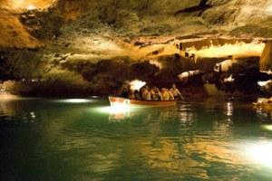 interior de las cuevas de la vall d'uixo