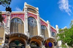Imprescindibles de Valencia fachada mercado central de valencia