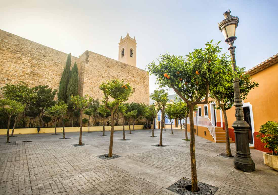 Calpe casco antiguo