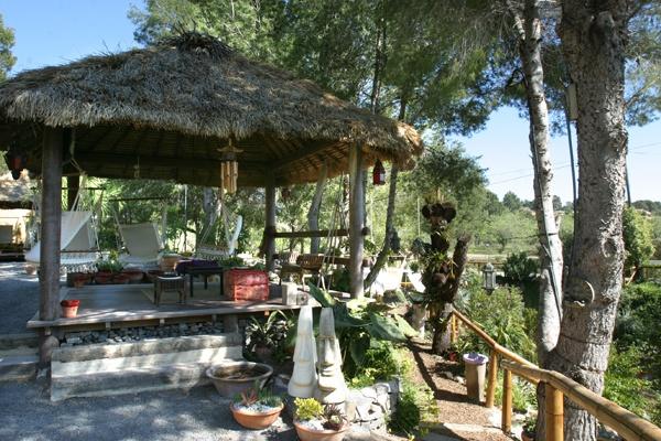 Jardín de los Sentidos Exotic garden