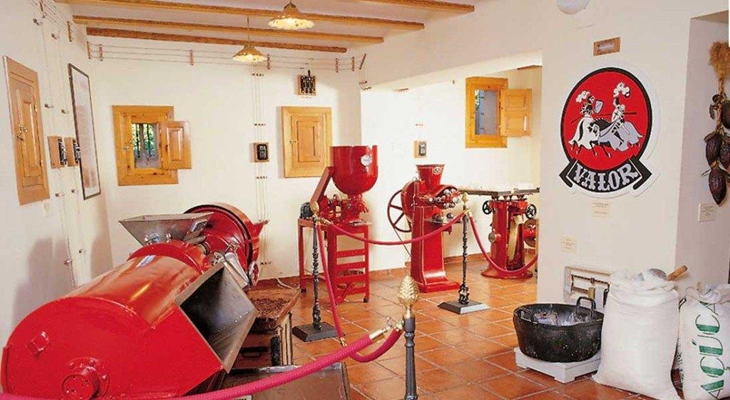 Museo del choclolate Valor Villajoyosa