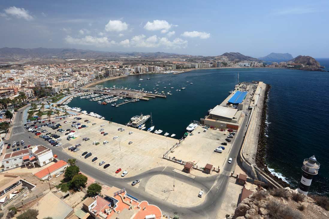 panoramica puerto de Águilas
