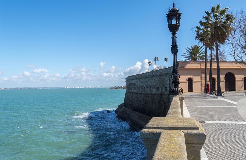 parque genoves junto al mar